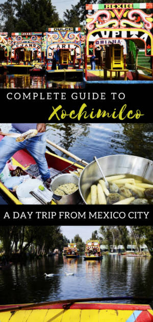 A complete guide to Xochimilco, a day trip from Mexico City. #travelguide #mexicocity #traveltips #mexico #xochimilco