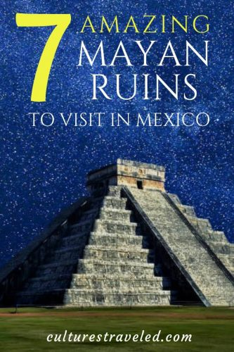 From Chichen Itza to Tulum to Coba, save the 7 Best Mayan Ruins in the Yucatan for later.